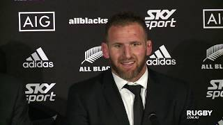 Bledisloe Cup 2019: New Zealand press conference, Auckland