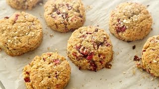 Gluten-Free Cranberry Quinoa Scones – Everyday Food with Sarah Carey