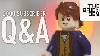 Q&A (5000 Subscriber Special)- The Brick Den