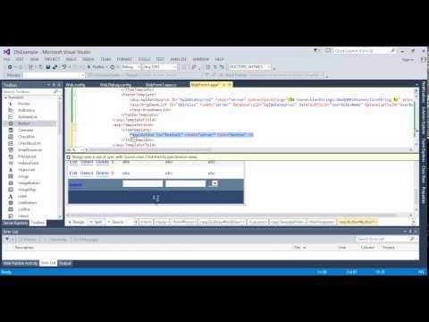 دورة قواعد بيانات للمبتدئين 8 # عرض البيانات في  gridview الجزء الثاني
