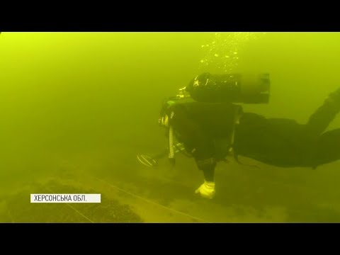 Археологи обнаружили два 300-летних корабля на дне Днепра. Видео