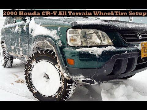 2000 Honda CR-V All Terrain Wheel/Tire Setup