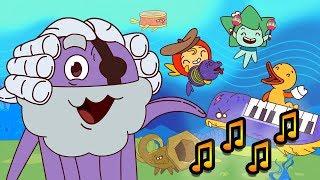 Капитан Кракен и его команда - Песенки - Интересные мультфильмы для детей