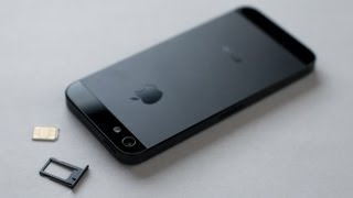 iPhone 5 / 5S / SE HOW TO: Insert / Remove a SIM Card