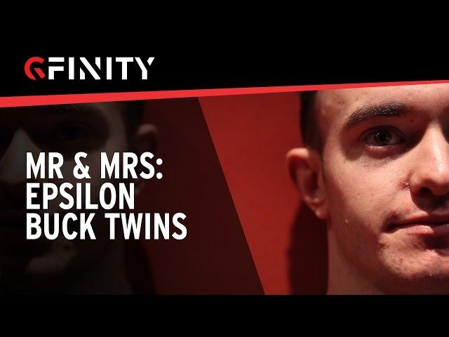 MR & MRS: The Buck Twins