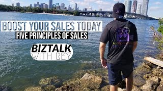 Principles and foundations of sales