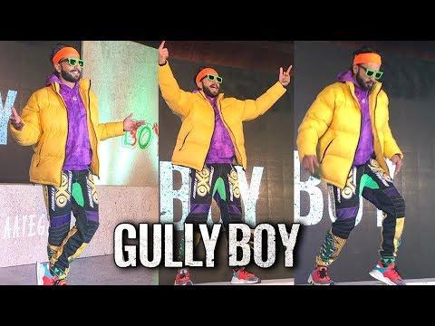 Ranveer Singh CRAZY RAPPER Look At Gully Boy Trail