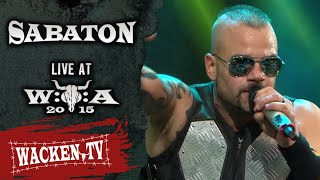 Sabaton - 3 Songs - Live at Wacken Open Air 2015