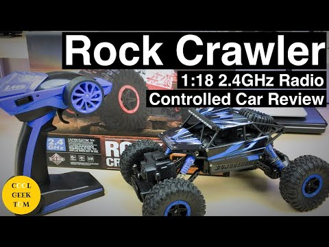 Rock Crawler 1:18 2.4GHz Radio Controlled Car Review