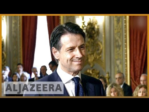 🇮🇹 Italy: Giuseppe Conte sworn in as new prime minister | Al Jazeera English