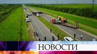 Пассажирский автобус столкнулся сКамАЗом вТатарстане. Всписке жертв 13 человек.