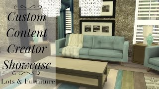 Sims 4 Custom Content Creator Showcase: Custom Lots!