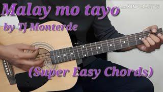 Malay Mo Tayo   Tj Monterde Easy Guitar Chords (Guitar Tutorial)