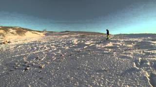 preview picture of video 'Stepnogorsk 2014 #1 (Snowboard freeride). Первый снег.'
