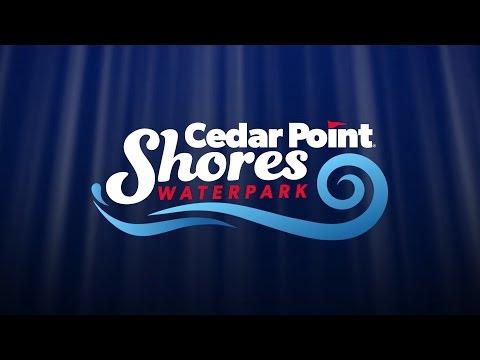 Cedar Point Shores Waterpark - Virtual Tour (видео)