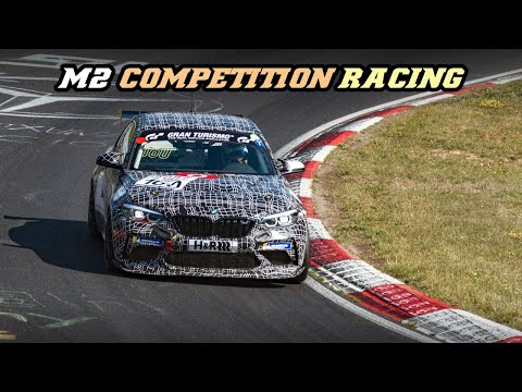 NEW // BMW M2 Competition racing - First race test on Nordschleife