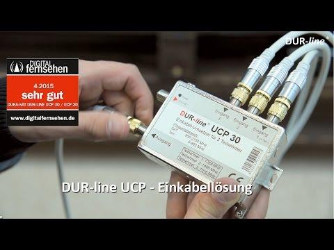 """Unicable Schalter - Dur-line UCP - Einkabellösung (3 Receiver über 1 Leitung ) - Test: """"Sehr Gut"""""""