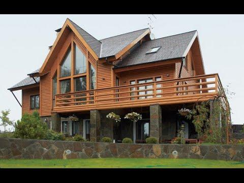 Красивые Деревянные Дома |  Wooden House.