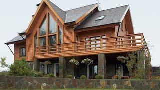 Красивые Деревянные Дома    Wooden House.
