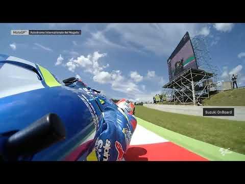 Suzuki Ecstar OnBoard: Gran Premio d'Italia Oakley