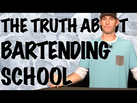 What Bartending Schools Don't Want You To Know - Bartending 101