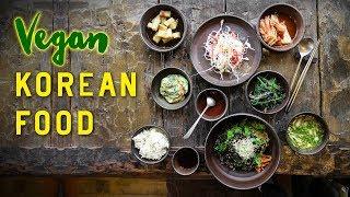 VEGAN KOREAN FOOD on Jeju Island, South Korea