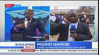 Gavana Mike Mbuvi Sonko waafikiana na wafanyakazi wa kampuni ya usambazaji maji Nairobi: Mbiu ya KTN