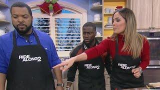 ¡Actores de 'Ride Along 2' cocinaron Rosca de Reyes! - dooclip.me