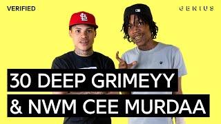 30 Deep Grimeyy & NWM Cee Murdaa NoCap Official Lyrics & Meaning | Verified