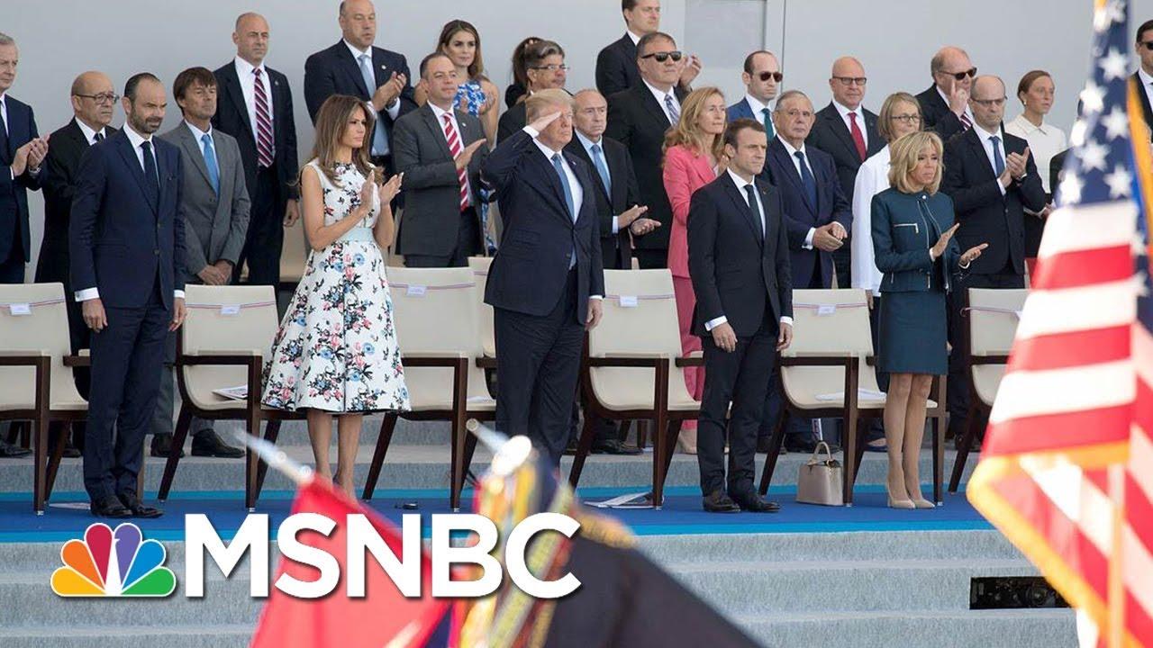 Joe On Trump's Military Parade: Have The Largest War Veterans Parade Instead   Morning Joe   MSNBC thumbnail