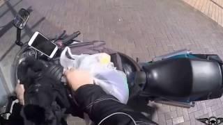 Байкеры помогают незнакомцам\The motorcyclists help strangers #6