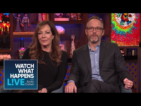 """What Happened During Allison Janney And John Benjamin Hickey's """"First Wives Club"""" Scene? 