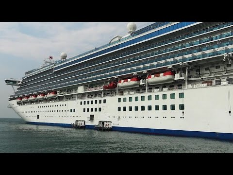 SAPPHIRE PRINCESS   ELABORATE SHIP TOUR incl. BUFFET and CABINS