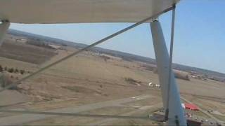 preview picture of video 'Last flight of my Challenger Ultralight'