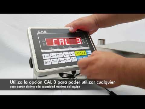 Calibración CAS CI-200