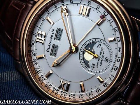 Thương hiệu đồng hồ lâu đời nhất? Review trên tay đồng hồ Blancpain Leman Complete Calendar