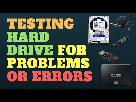 Testing Hard Drive for Problem