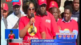 DP William Ruto cautions the opposition against dragging the military into politics