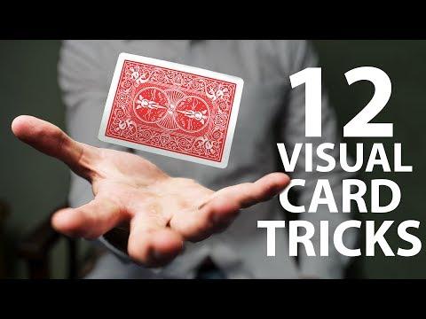 12 VISUAL Card Tricks Anyone Can Do | Revealed