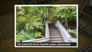 preview picture of video 'Hiking around Pink Lake in the Gatineau Park Momentsintime's photos around Gatineau, Canada'