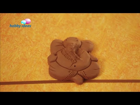 Eco Friendly Natural Clay Ganesha Idol