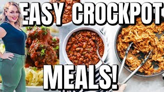 😱 DUMP & GO CROCK POT MEALS / QUICK & EASY RECIPES / KETO MEAL IDEAS / DANIELA DIARIES