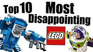 Top 10 Most Disappointing LEGO Sets!
