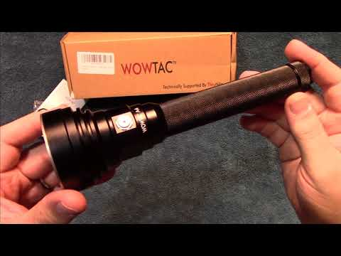 WowTac A4 Flashlight Review!