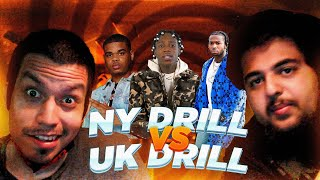 NEW YORKERS REACT TO NY DRILL VS UK DRILL