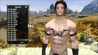 Skyrim: Ixum's Tattoos