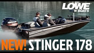 New Lowe Stinger 178 - Best-In-Class Bass Boat