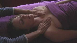 Head Massage&Chest MassageTherapy Lymph Drainage How To Techniques ASMR Massage