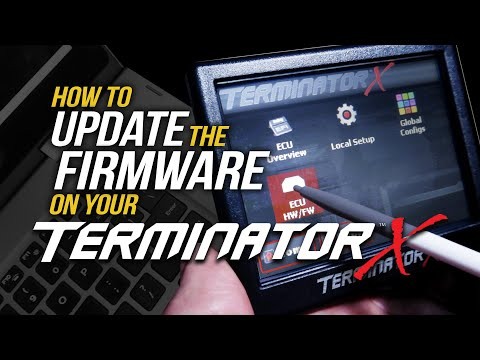 How to Update Your Terminator X EFI Firmware