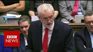 Labour leader Jeremy Corbyn: Withdrawal agreement does not meet our tests - BBC News